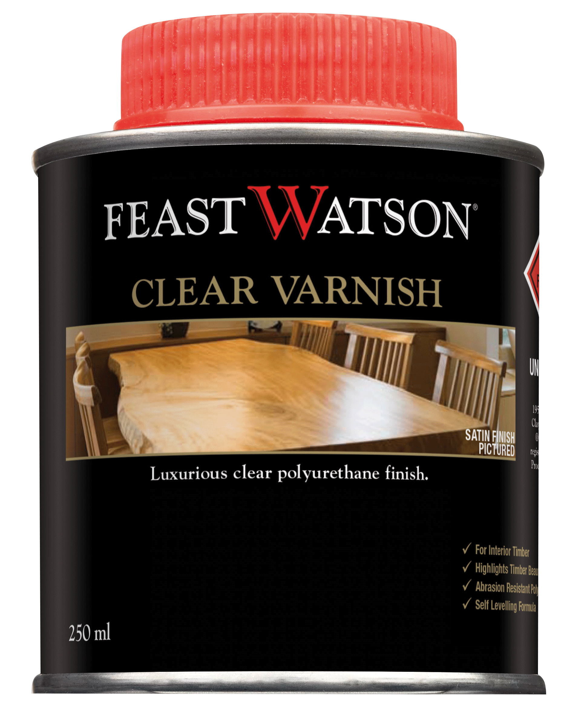 Clear Varnish Feast Watson Products